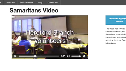 Hereford Samaritans Video